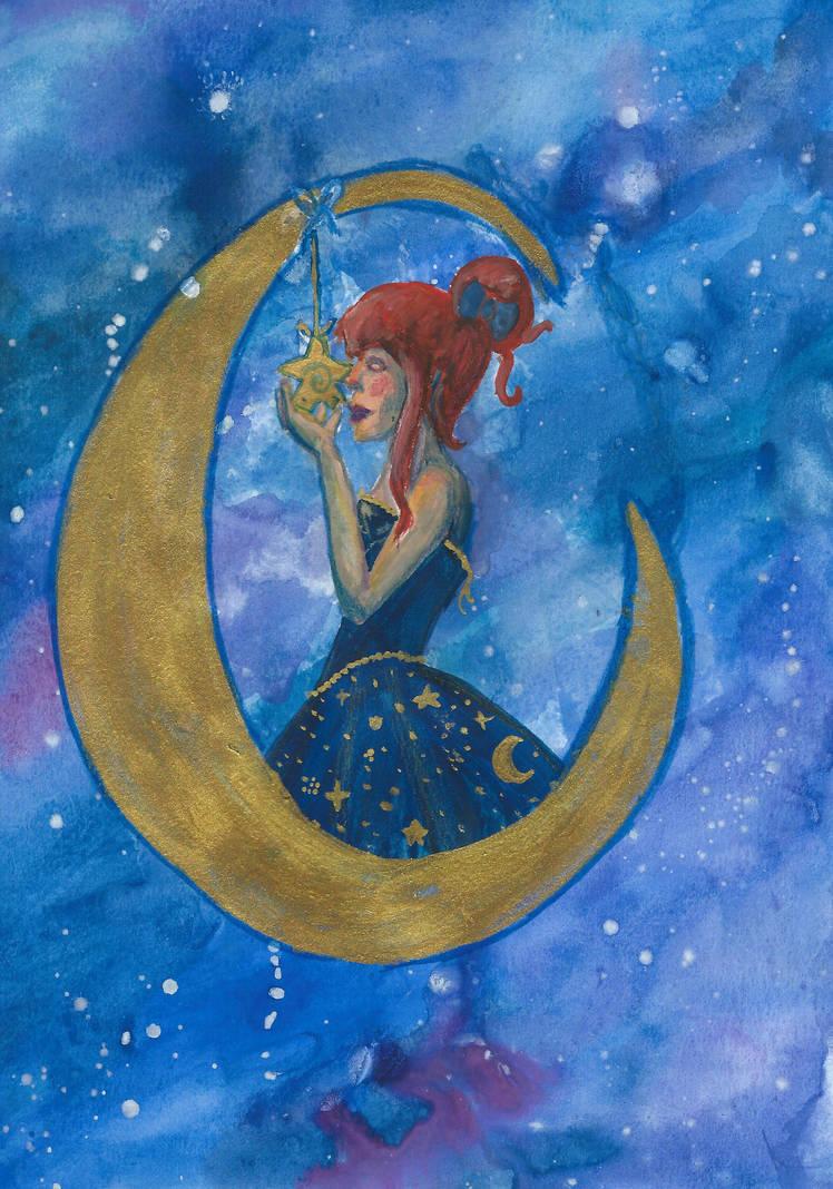 Moon by MissMosquitete