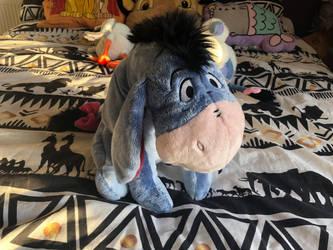 Winnie the pooh disneystore eeyore plush by LittleRolox3