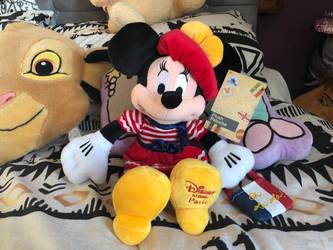 Disneystore paris minnie mouse plush by LittleRolox3