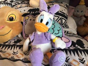 Disneystore daisy duck plush by LittleRolox3