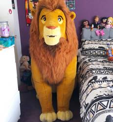 Lion King 5ft Douglas Simba Plush by LittleRolox3