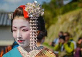 Geisha - Japanese elegance in Kyoto by Rikitza