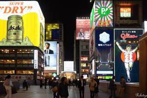 Asahi over Osaka by Rikitza