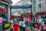 Oxford Circus Station by Rikitza