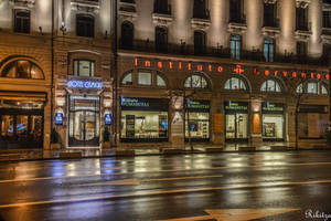 Night on the Boulevard by Rikitza