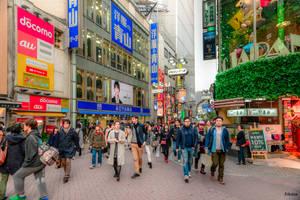 Afternoon in Shibuya - Tokyo by Rikitza