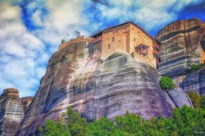 monumental Meteora by Rikitza