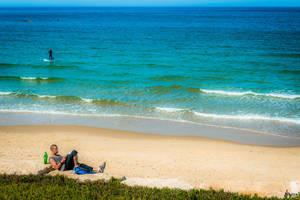 November - Beach Reading by Rikitza