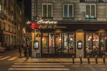 Cafe du Cadran by Rikitza