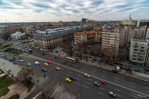 toy cars in Bucharest by Rikitza