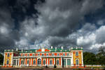 awaiting tempest at Kadriorg by Rikitza