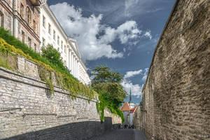 between Tallinn walls by Rikitza