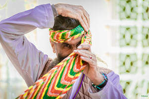 Incredible India - moustache and turban by Rikitza