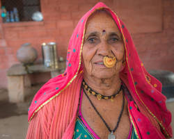 Incredible India - Indian mama by Rikitza