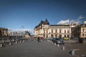 Romania for ever -morning in the Revolution square by Rikitza