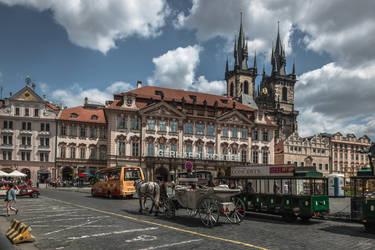 Czech paradise - Richter in Prague by Rikitza