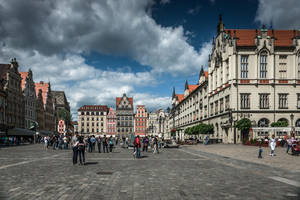 Wroclaw - main square by Rikitza