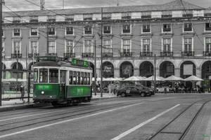 sweet Portugal - Lisbon tram by Rikitza
