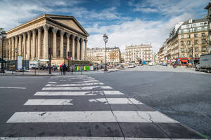 Paris the city of lights - Madeleine another view by Rikitza