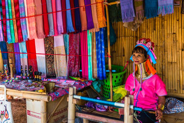 Bangkok with love - colors and long neck by Rikitza