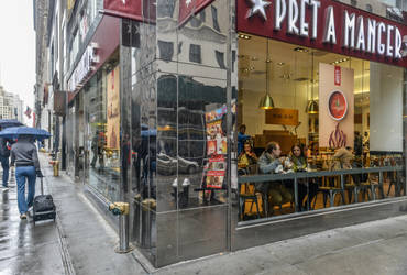 NYC - pret a manger by Rikitza