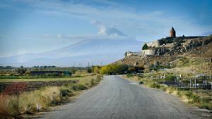 Armenia - landscape in mountain area by Rikitza