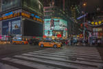 NYC - one second more night in Manhattan by Rikitza