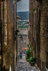 sweet cote d'Azur - looking thru by Rikitza
