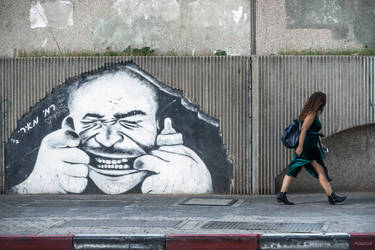 My Tel Aviv - long time before Banksy by Rikitza