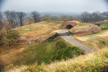 view at the Petrovardin fortress by Rikitza