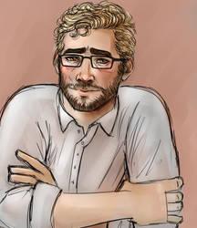 Cullen in Glasses by MistyKat