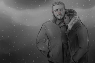 It's Cold by MistyKat
