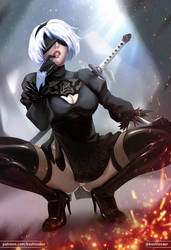 2B 2HOT by koshiosaur