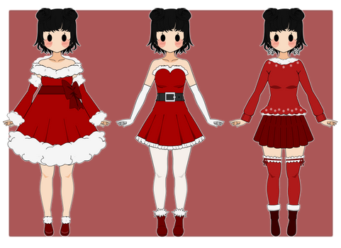 :Outfit Exports 06: [Christmas Ver.] by K-A-R-D
