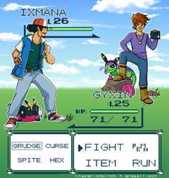 OI: Halloween Contest Funny Duo - Pokemon by greyallison