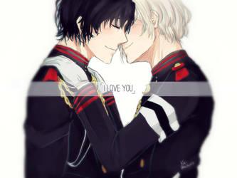 I love you by KAlTOV3