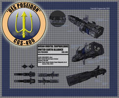 Challenger Retcon-UES Poseidon by fongsaunder