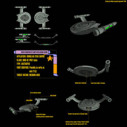 Romulan Bird of Prey by fongsaunder