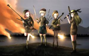 Ministry of Unladylike Warfare by fongsaunder