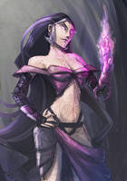 Liliana speed painting by ivanev