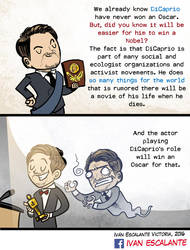 Something about DiCaprio by ivanev