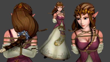 Princess Zelda by 4wearemanytoo