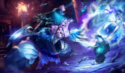 Asian Sorcerer by jybe44
