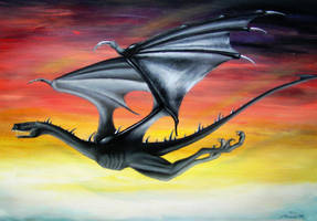 Dragon - Lord of The Rings by DarkAngels777