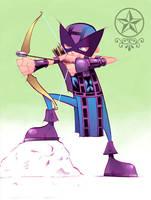 'lil' Hawkeye by irongiant775