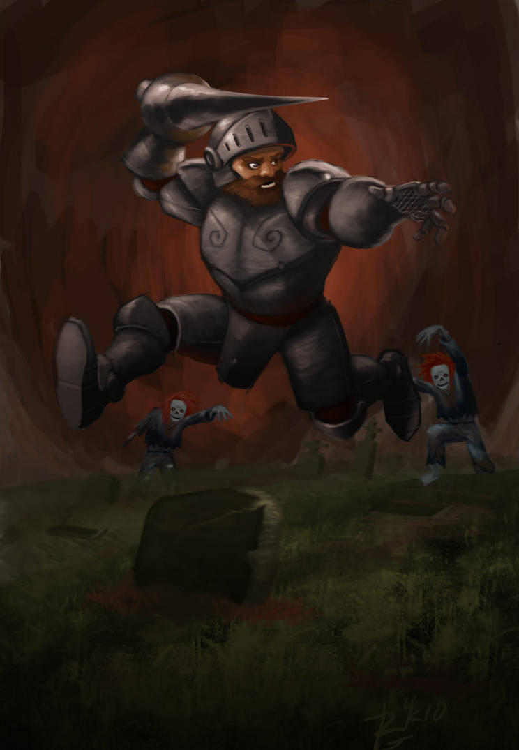 Ghosts N' Goblins by irongiant775