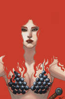 Red Sonja by irongiant775