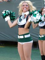 NY Jets Cheerleader by TLE1
