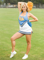 UCLA Cheerleader by TLE1
