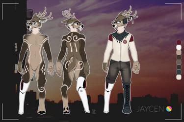 Jaycen Ref Sheet for jz113 by ArcanusUmbra